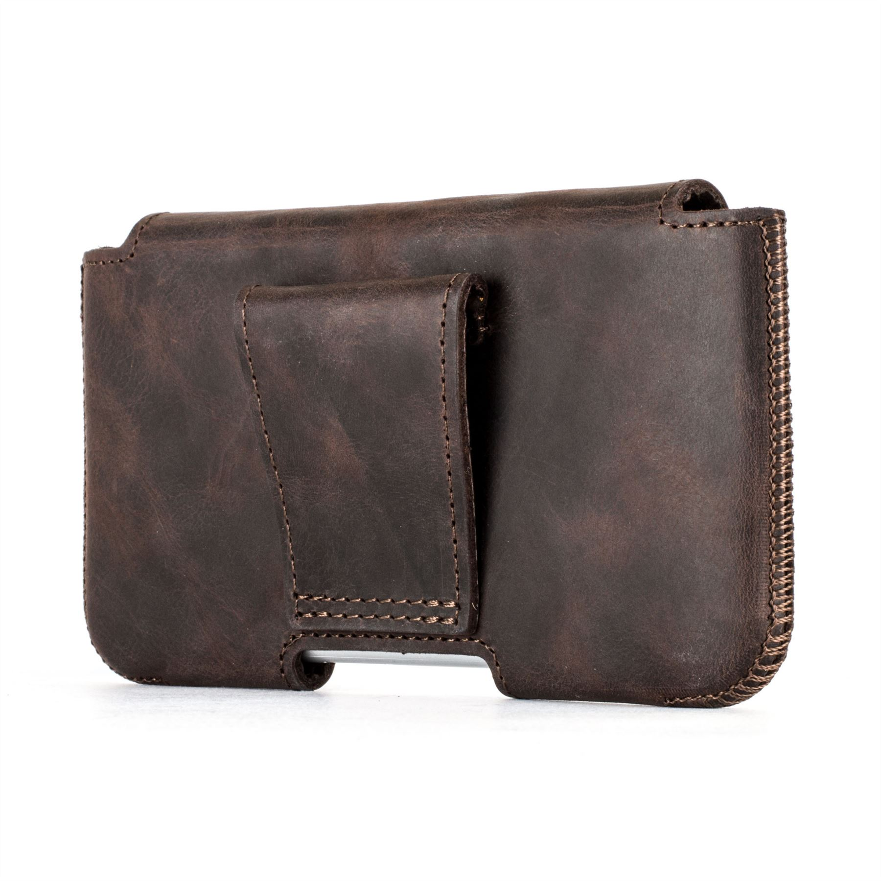 Snakehive apple iphone 5 5s se real leather belt pouch case holder ebay - Iphone 5s leather case ...