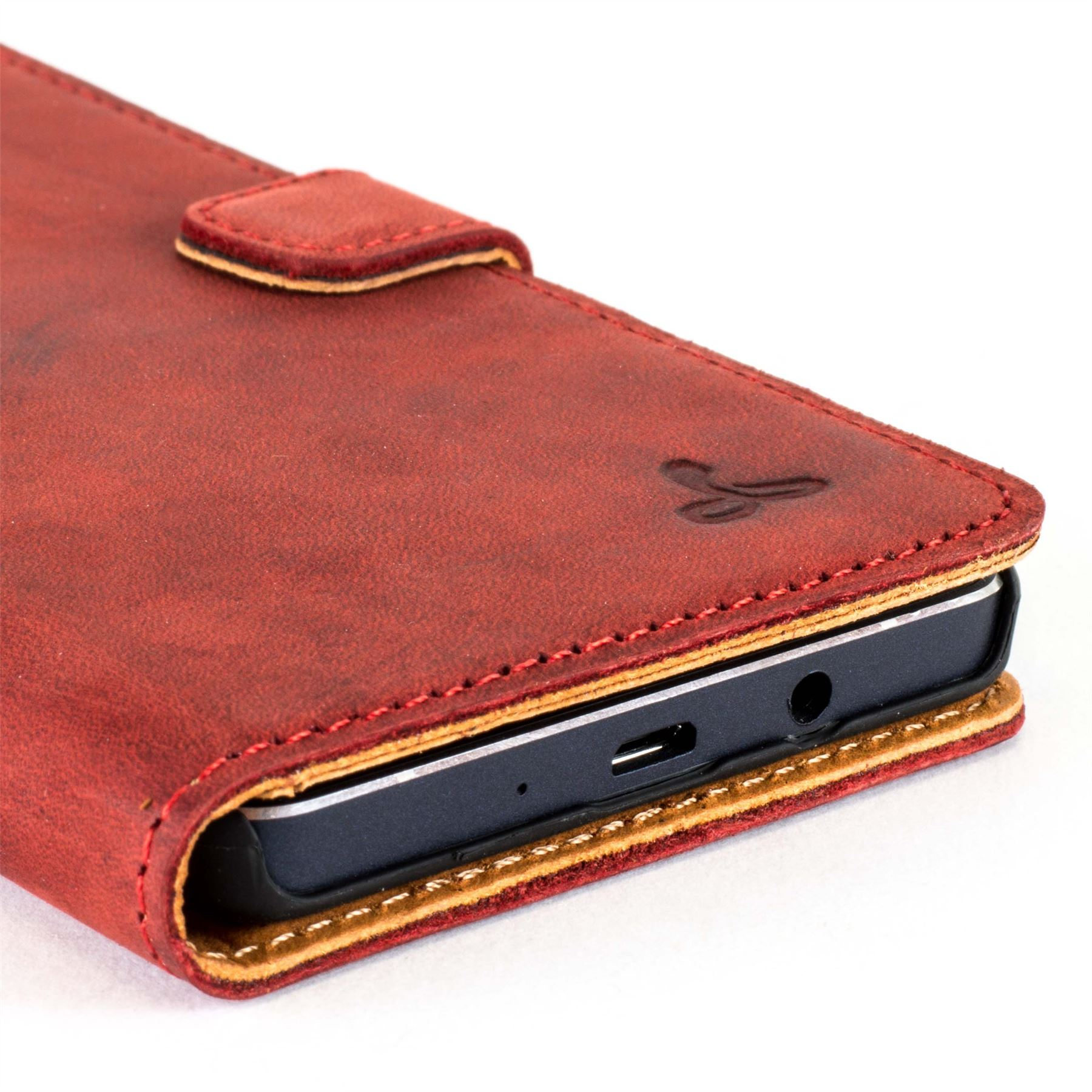 best website 90903 27736 Details about Snakehive Samsung A5 (2016) Premium Genuine Leather Wallet  Case w/ Card Slots