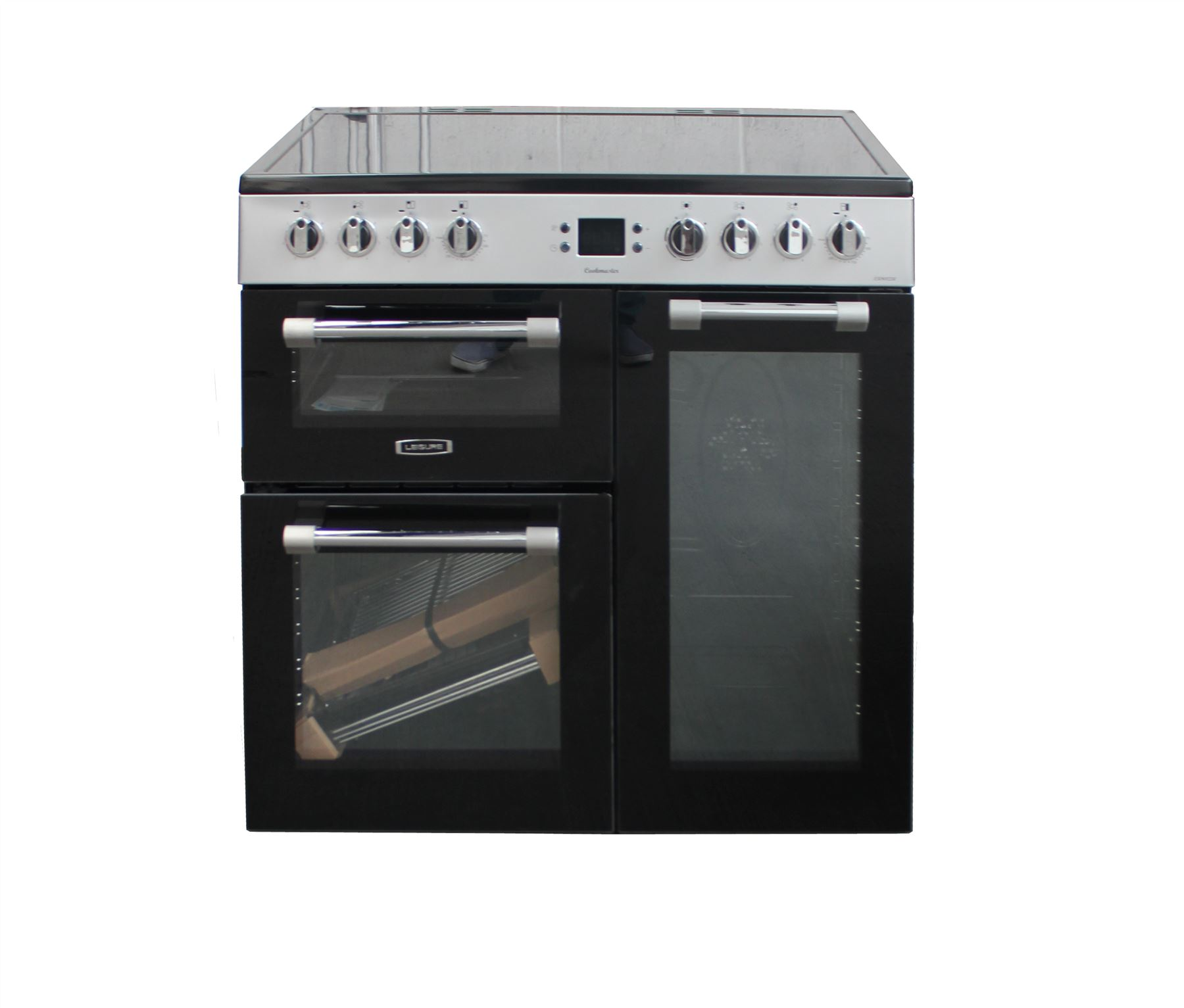 Leisure Cookmaster Ck90c230 Range Cooker 90cm Black 2245