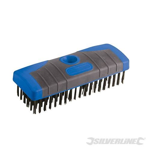 Silverline 599072 Detachable Steel Wire Broom Head