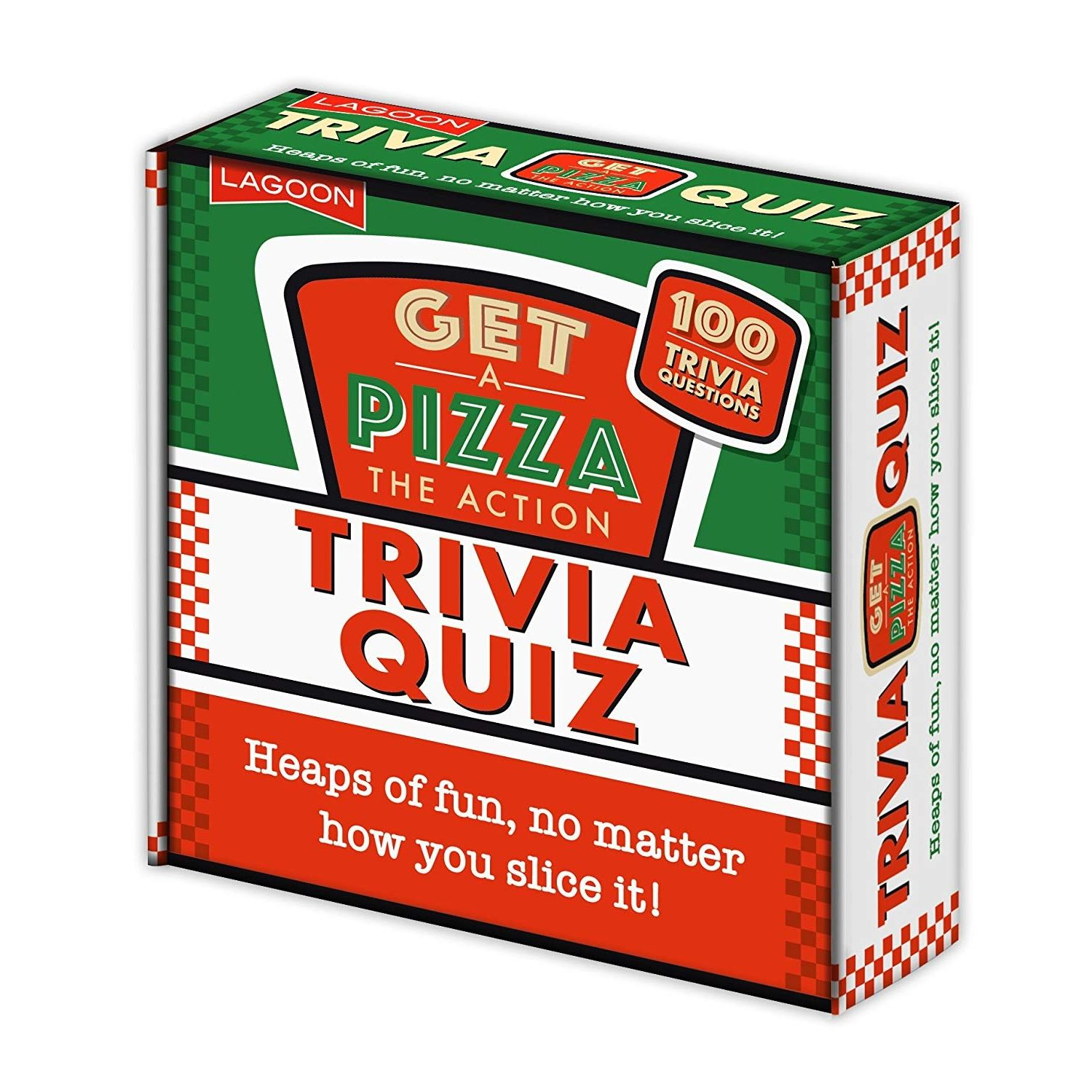 Details about Get A Pizza The Action Trivia Quiz Family General Knowledge  Fun Novelty Game