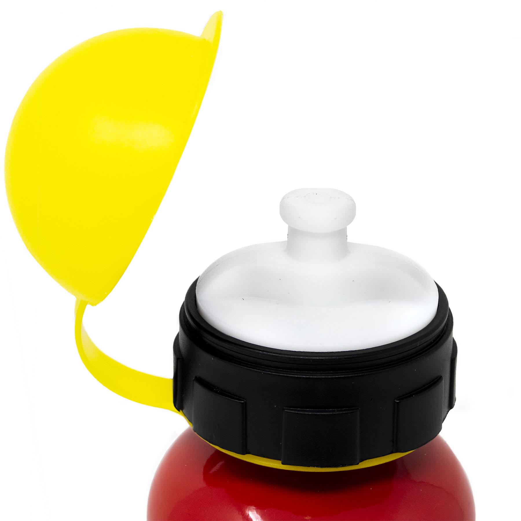 Kids-Aluminium-boissons-Bouteille-400-Ml-ENFANT-EAU-BALLON-garcons-filles-ecole-dejeuner miniature 3