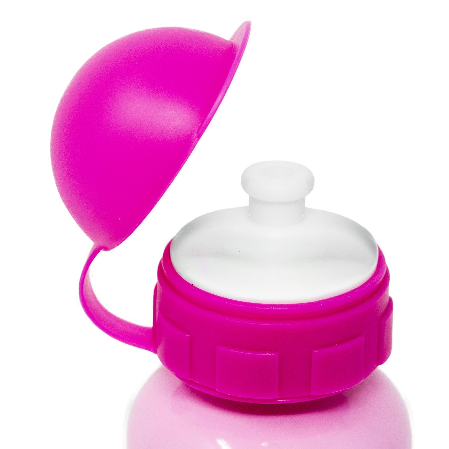 Kids-Aluminium-boissons-Bouteille-400-Ml-ENFANT-EAU-BALLON-garcons-filles-ecole-dejeuner miniature 11