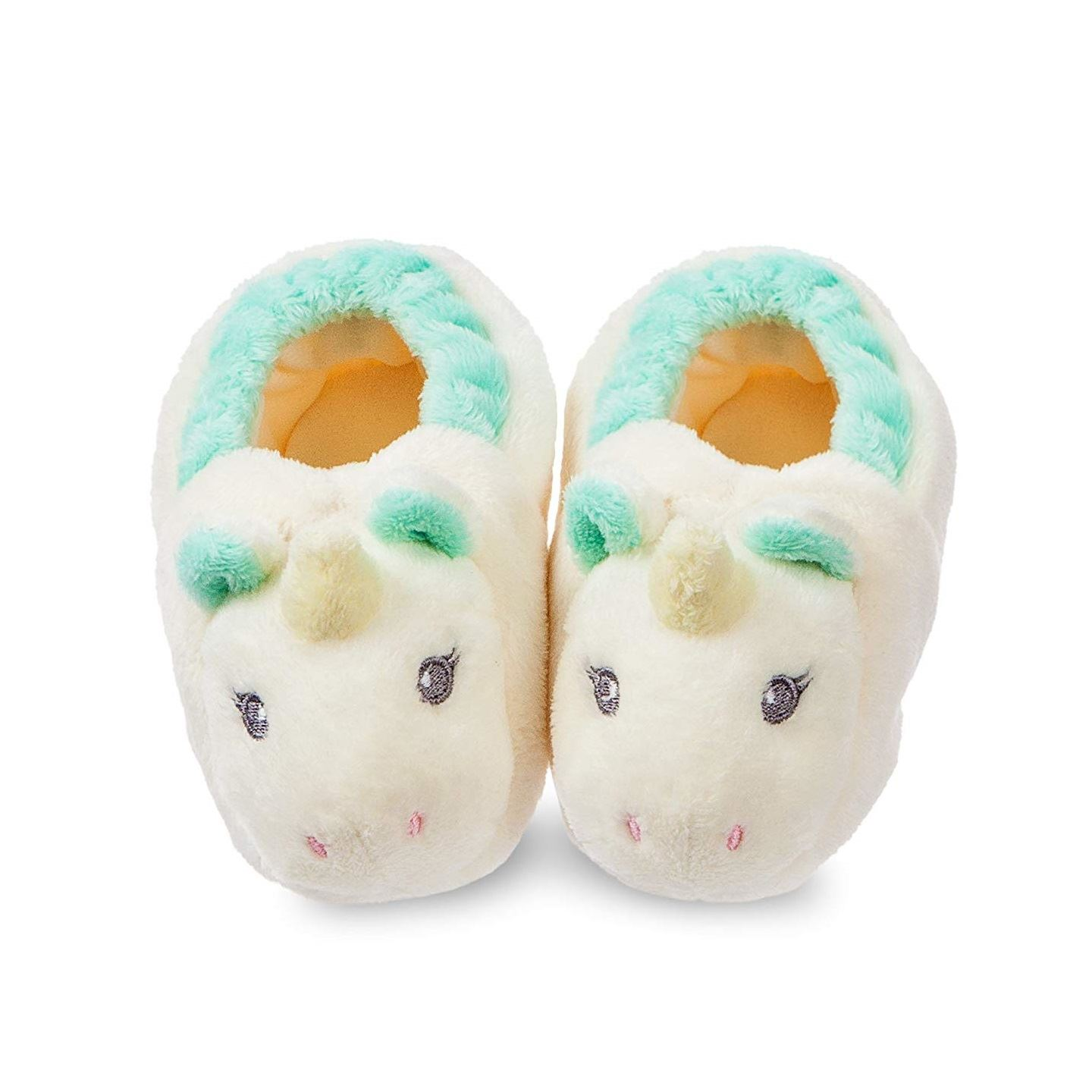 Aurora World Lil/' Sparkle Unicorn Booties 0-10 Months Baby Slippers Gift Box