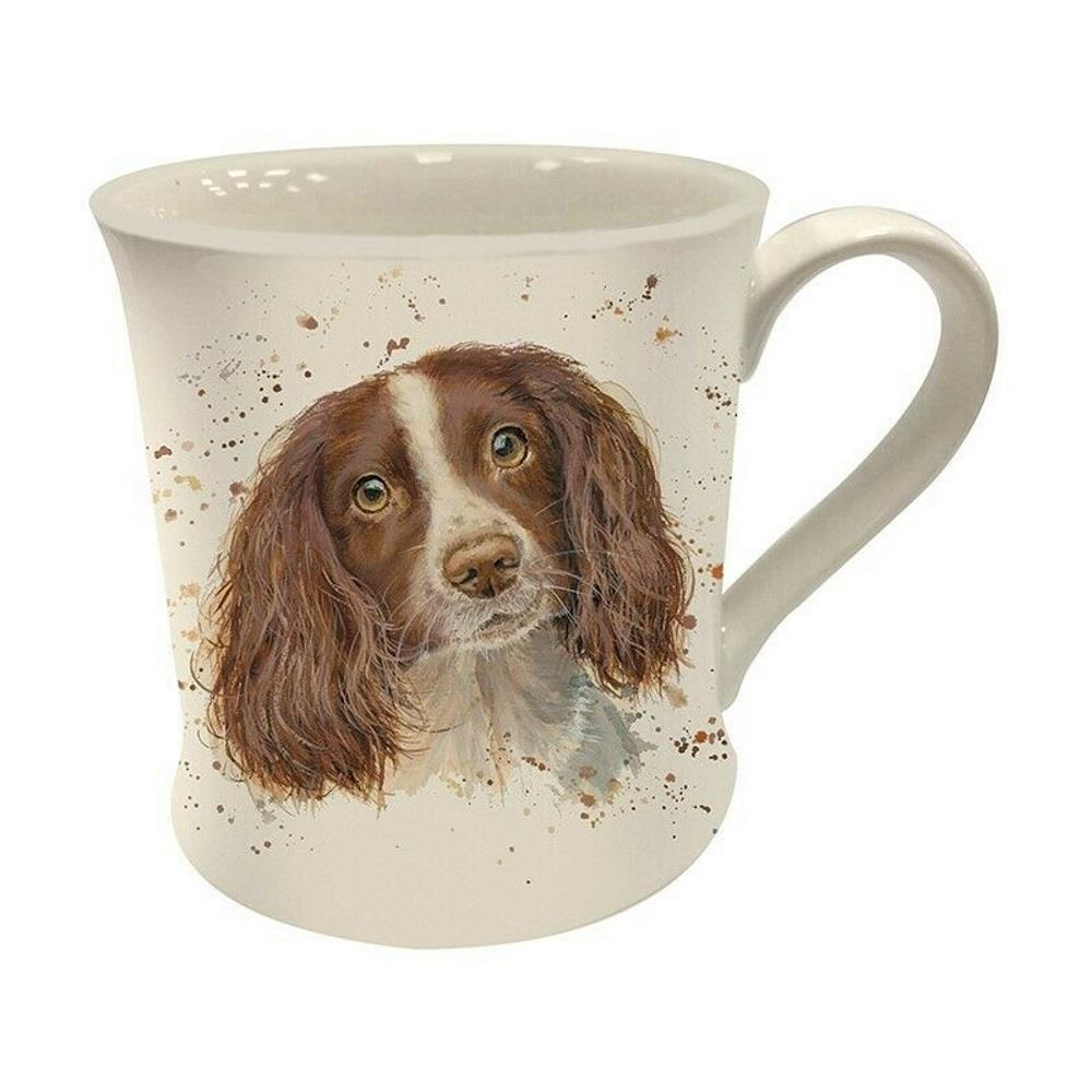 Bree Merryn Sky Spaniel Dog Fine China Mug Gift Boxed