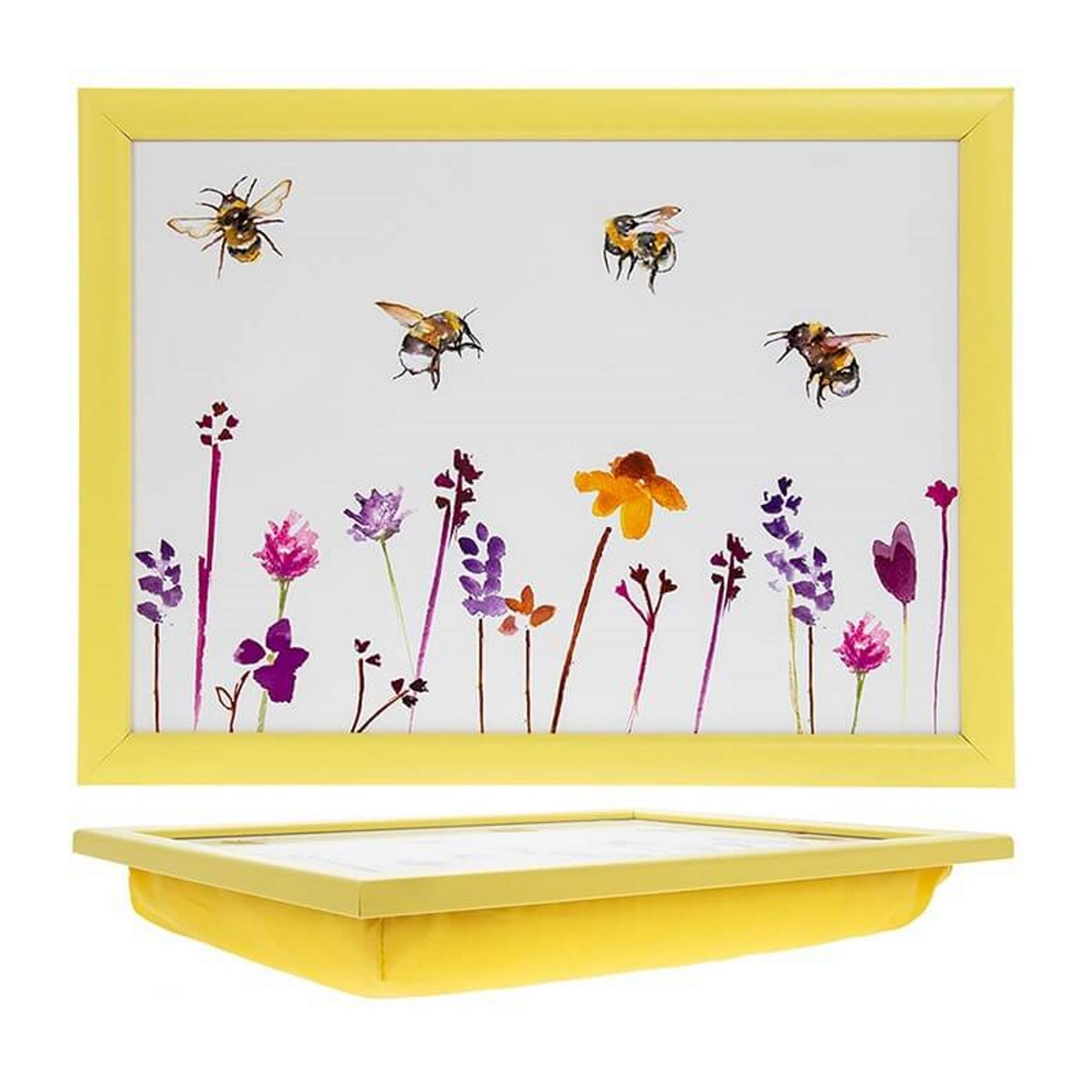 Terrific Details About Busy Bees Floral Lap Tray Bean Bag Laptray Cushion Laptop Dinner Padded Trays Forskolin Free Trial Chair Design Images Forskolin Free Trialorg
