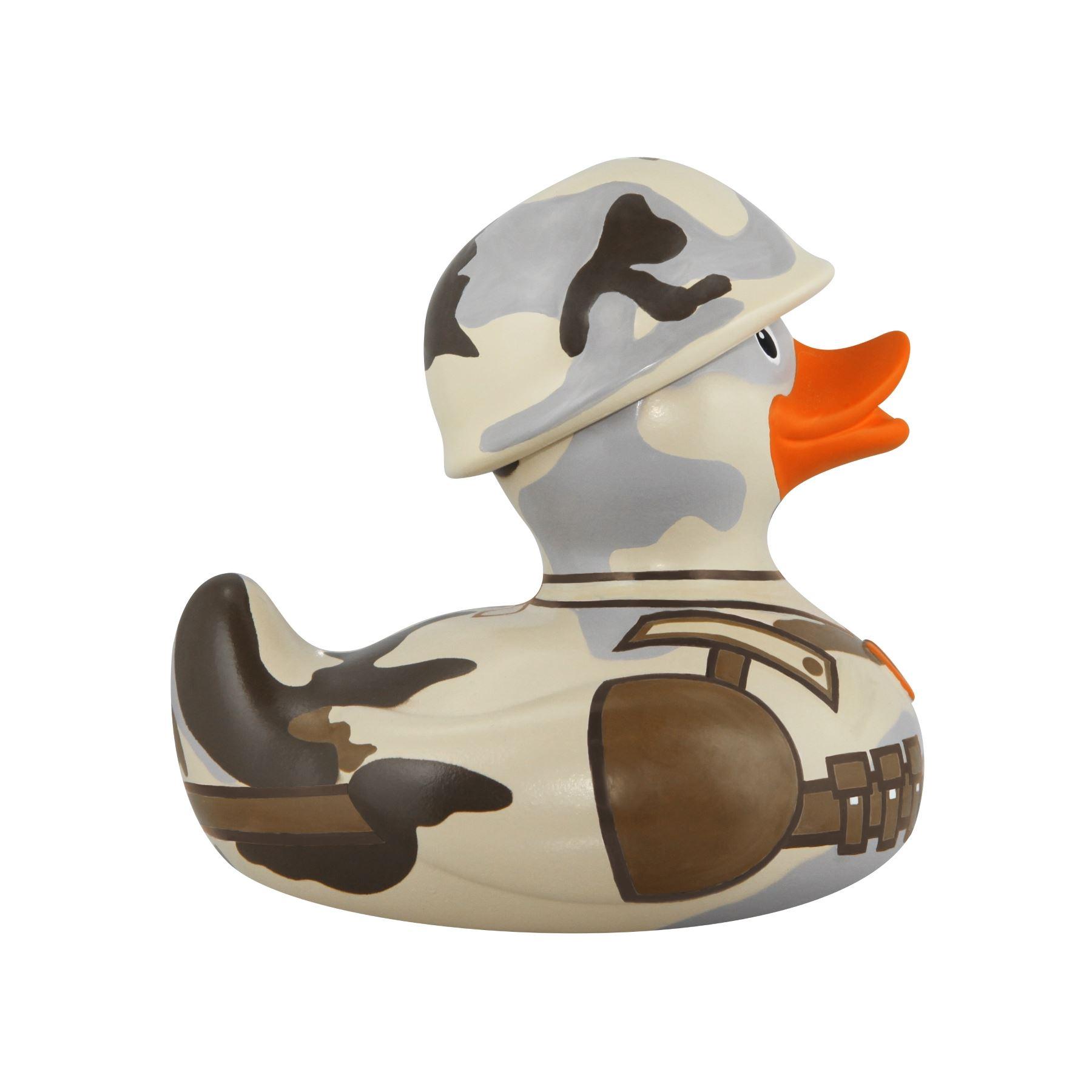 Bud Duck Deluxe GI Duck 10 cm collection jouet de bain canards Nouveauté Collectionneurs Cadeau