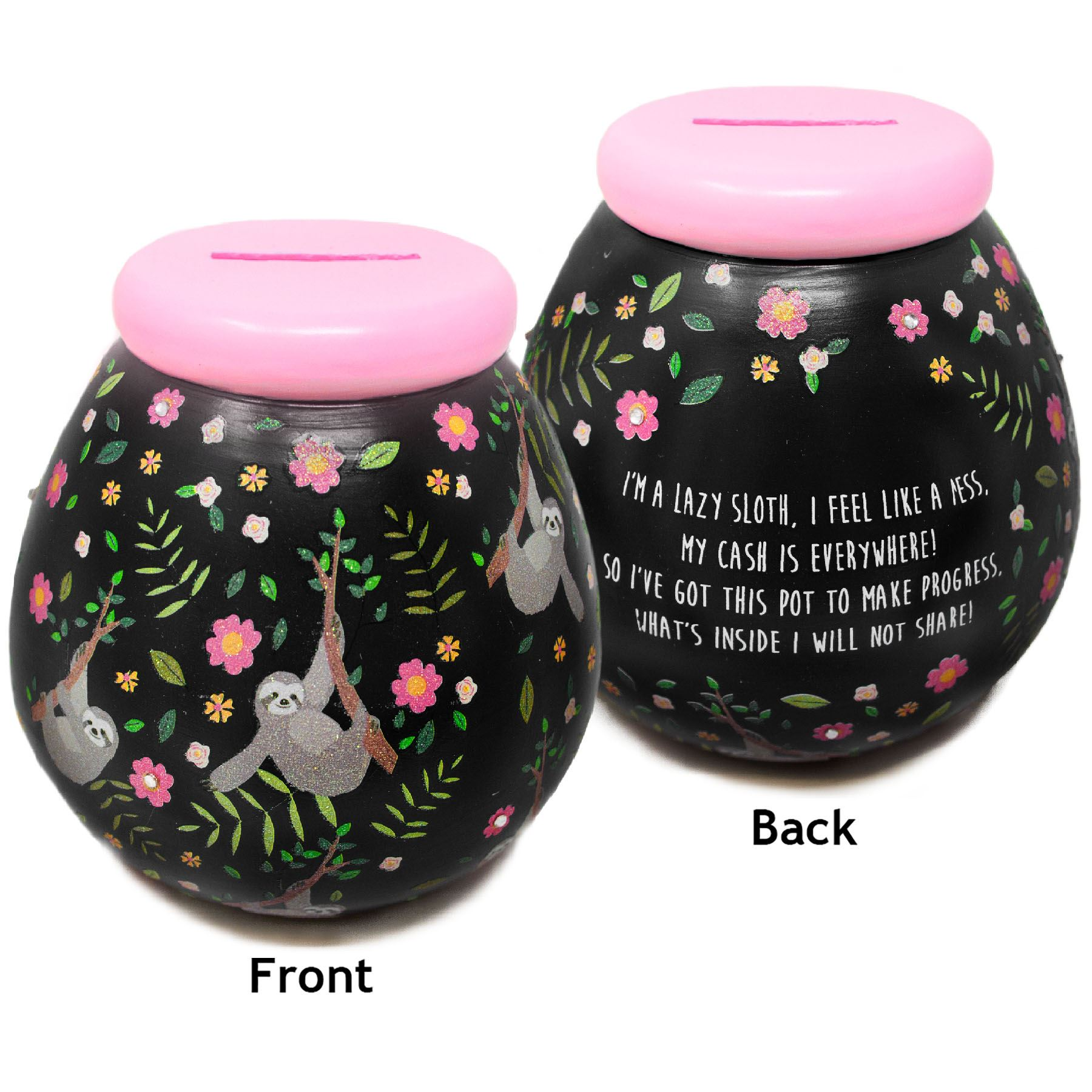 I Love You To The Moon And Back Pot of Dreams Money Pot