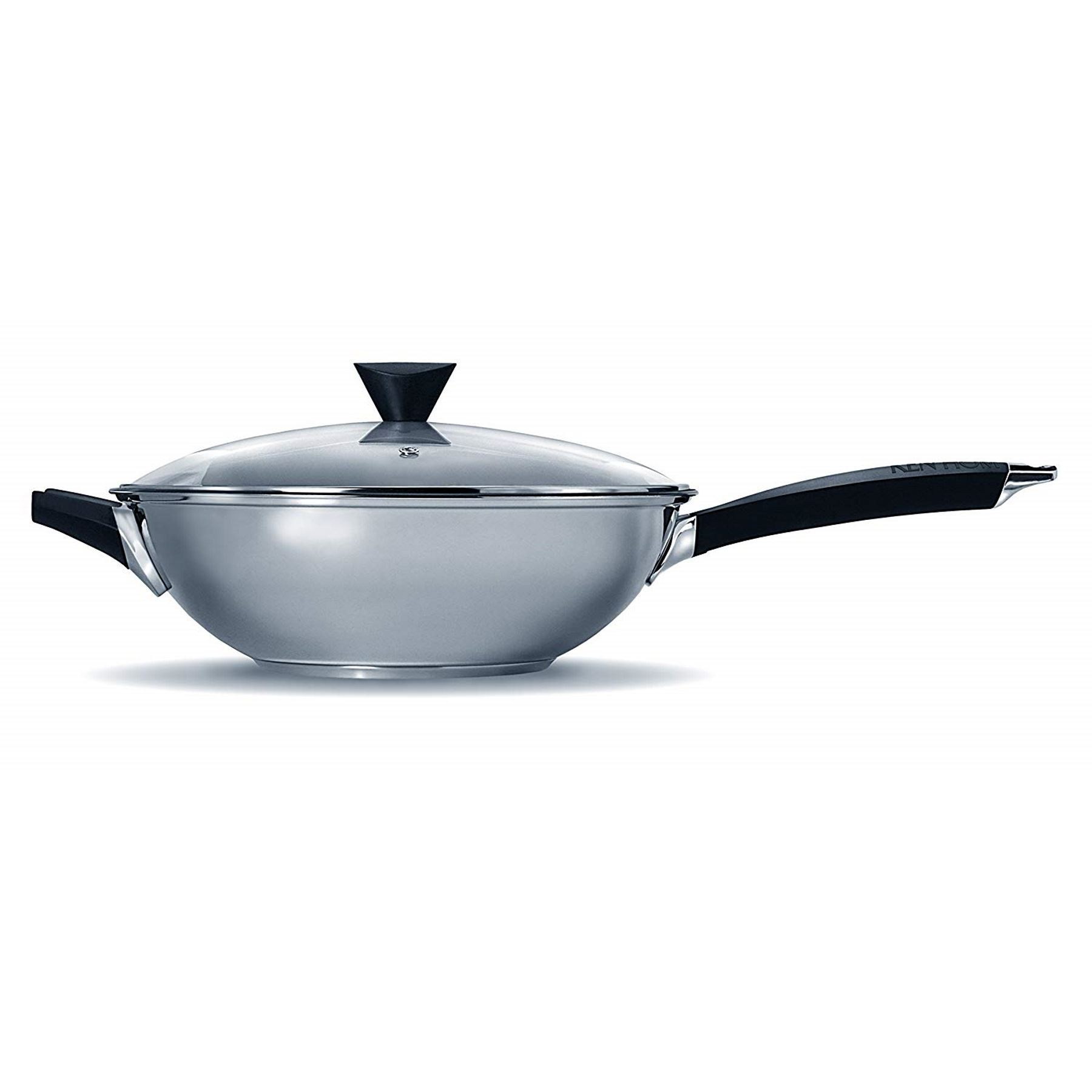 Ken Hom Performance Range Wok 2 Piece Set With Lid Stainless Steel