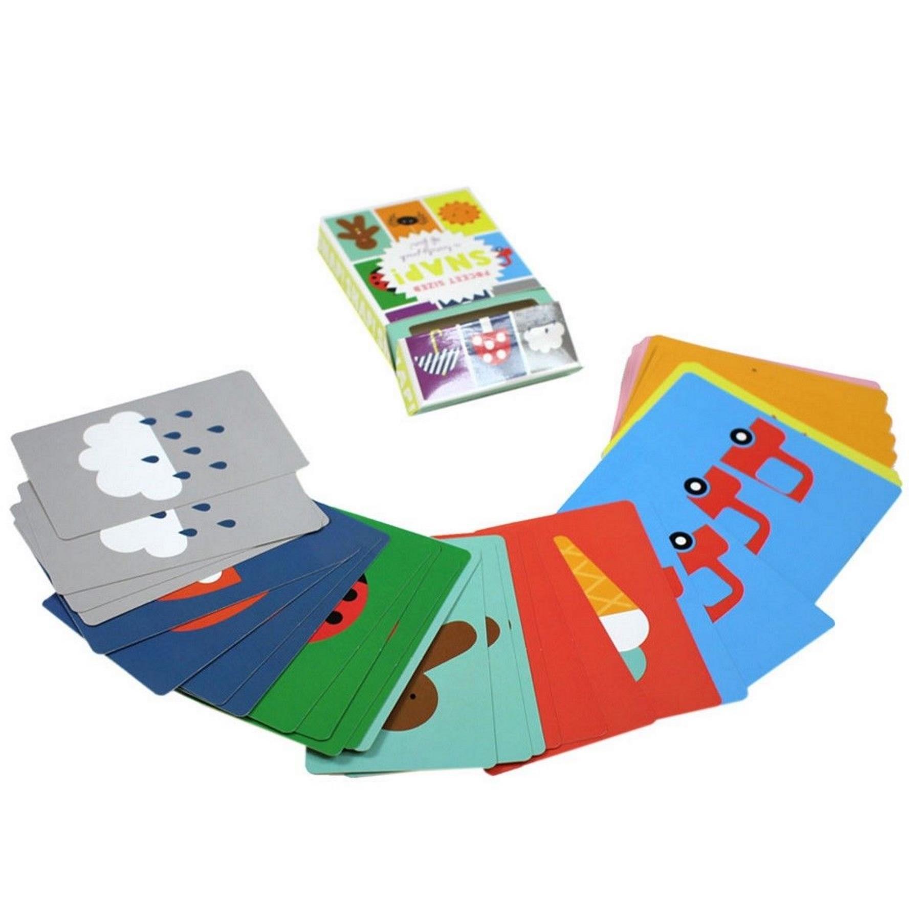 Deluxe Jumbo ELF SNAP KIDS jeu de carte Christmas Stocking Filler Secret Santa Cadeau