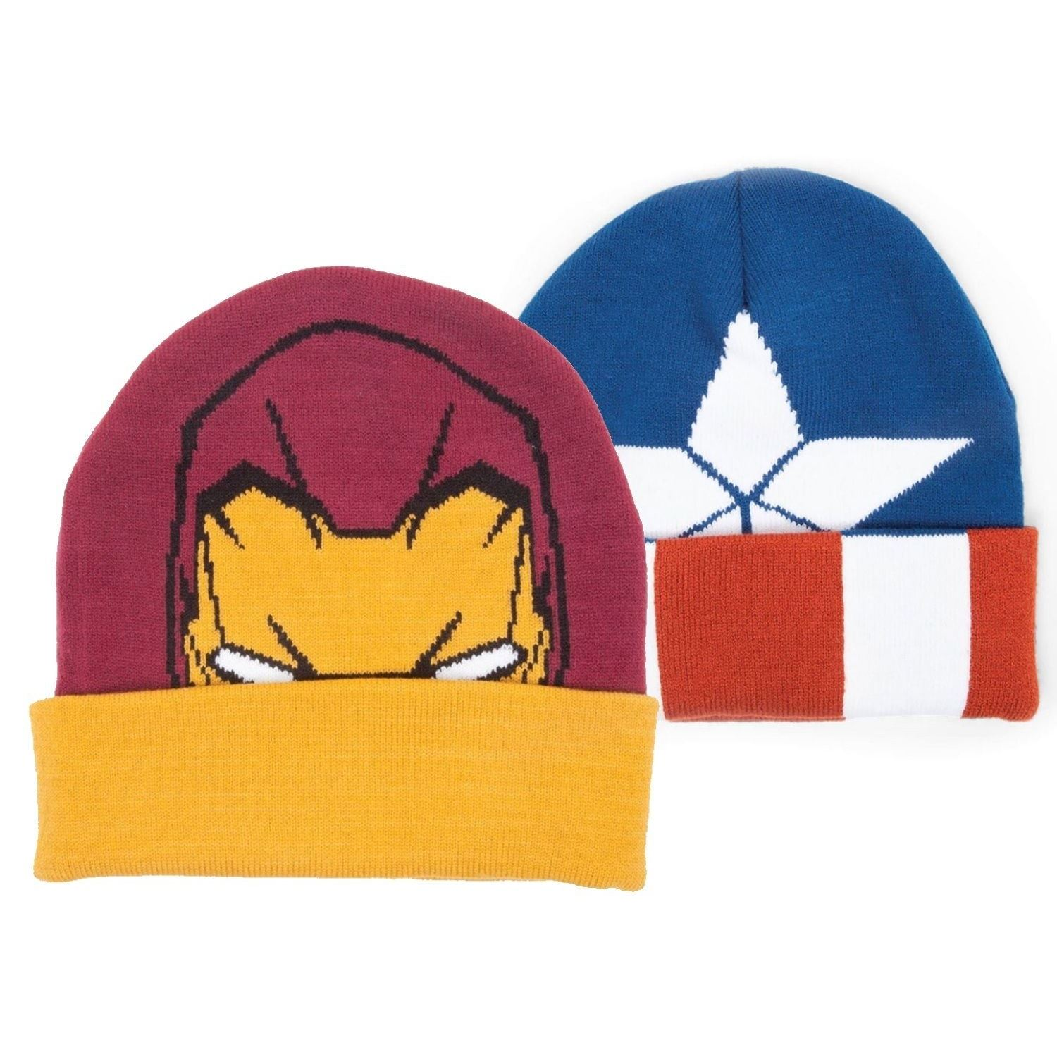Details about Marvel Avengers Civil War Beanie Hat Unisex Mens Womens  Woolly Winter Hats 58db63489b5