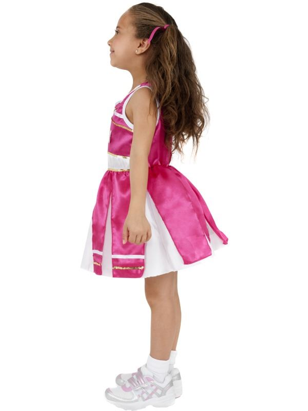 Details about  /GIRLS HIGH SCHOOL CHEER LEADER FANCY DRESS COSTUME CHILDS KIDS DANCER OUTFIT