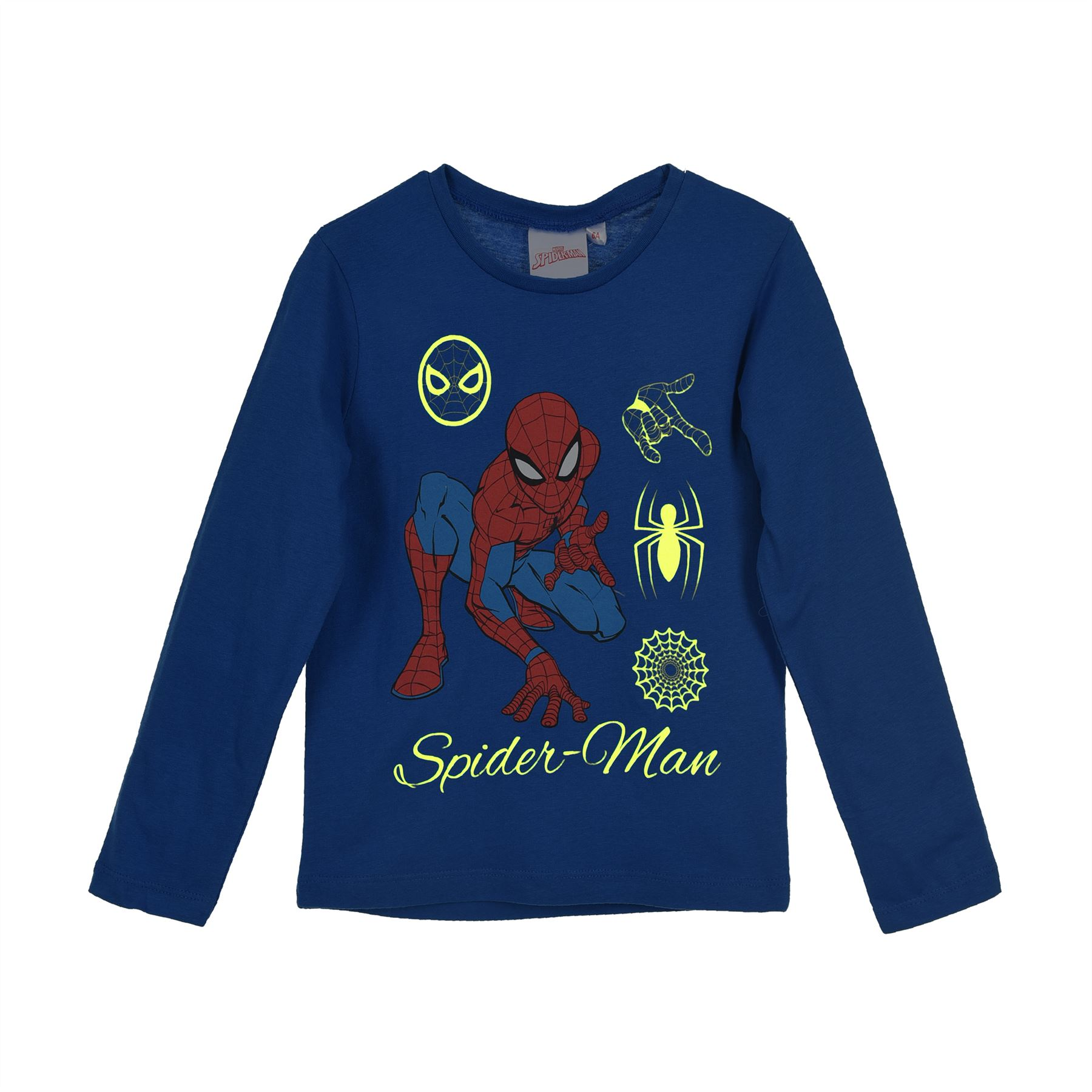 Boys SPIDERMAN T SHIRT LONG Sleeve T Shirt Age 3 YEARS NEW
