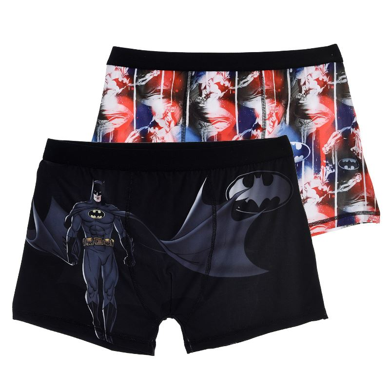 Mens-Official-Character-Boxer-Shorts-Boxers-Trunks-Hipsters-2-Pack-Size-S-M-L-XL thumbnail 5