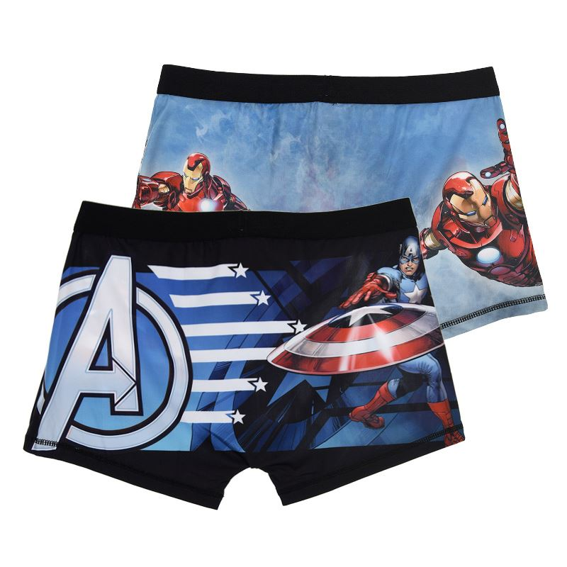 Mens-Official-Character-Boxer-Shorts-Boxers-Trunks-Hipsters-2-Pack-Size-S-M-L-XL thumbnail 16