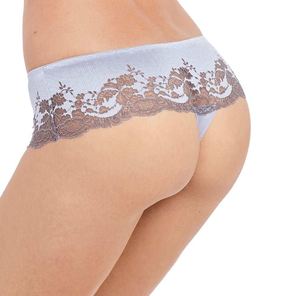 Wacoal Lace Affair Tanga Brief Knickers Thong 845256 Frappe//Cappuccino Size S