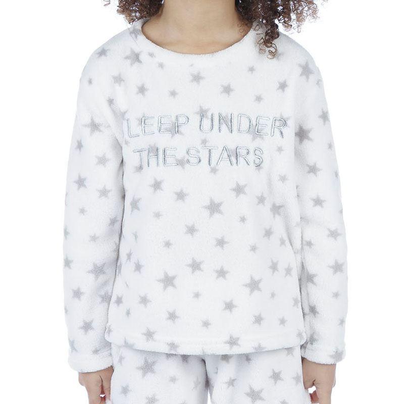 Girls-Boys-Fleece-Pyjamas-Childrens-Pyjama-Set-Kids-PJs-Age-2-13-Years thumbnail 38