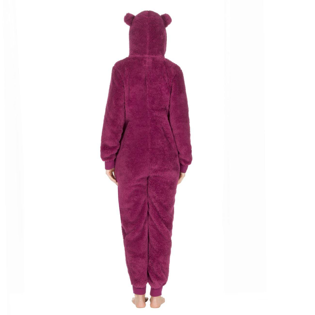 Ladies-Womens-Girls-Fleece-All-In-One-Pyjamas-Outfit-Jumpsuit-Costume-Size-6-18 thumbnail 26