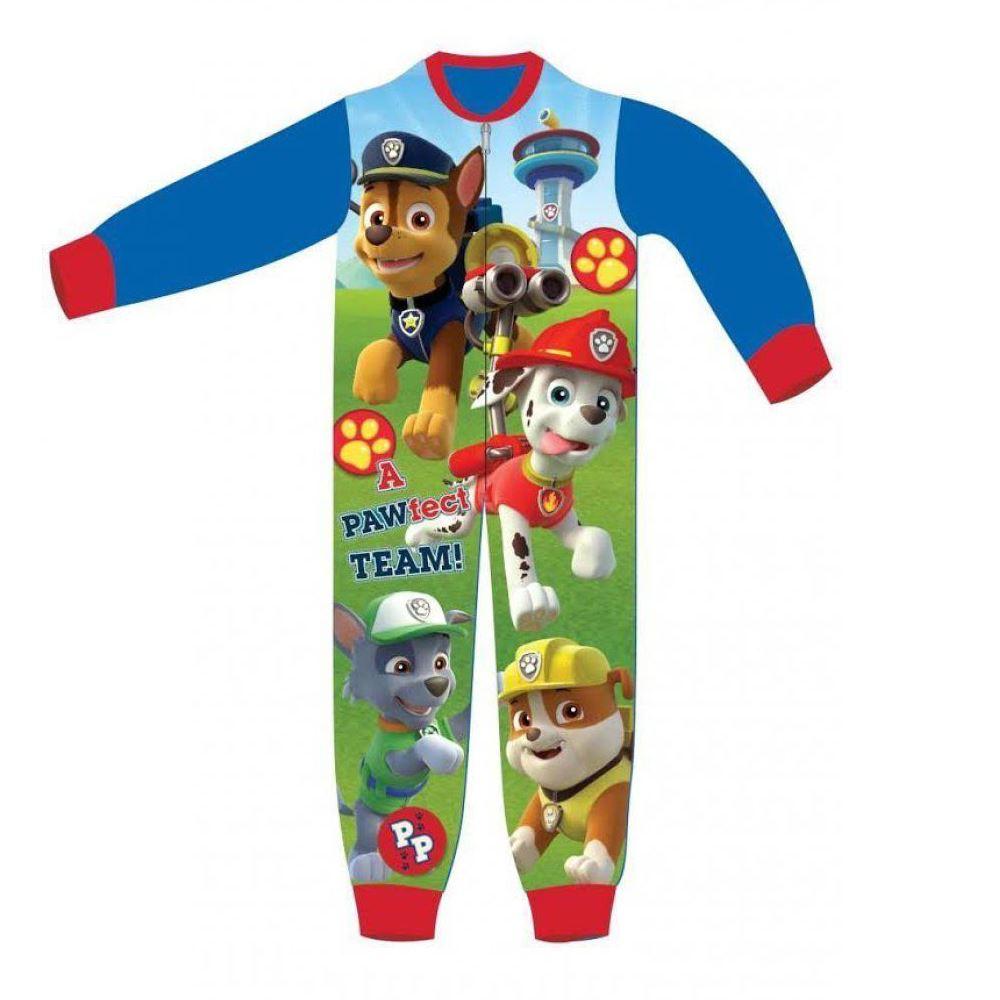 Enfants-Polaire-Tout-en-un-Garcons-Filles-Personnage-Enfant-Pyjama-Age-1-10-Ans