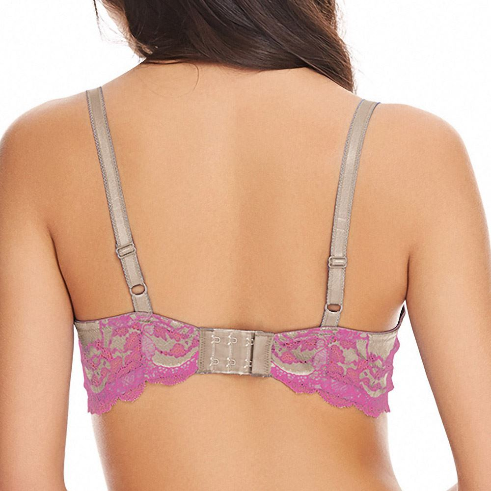 Wacoal-Lingerie-Lace-Affair-Underwired-Non-Padded-Bra-851256 thumbnail 11