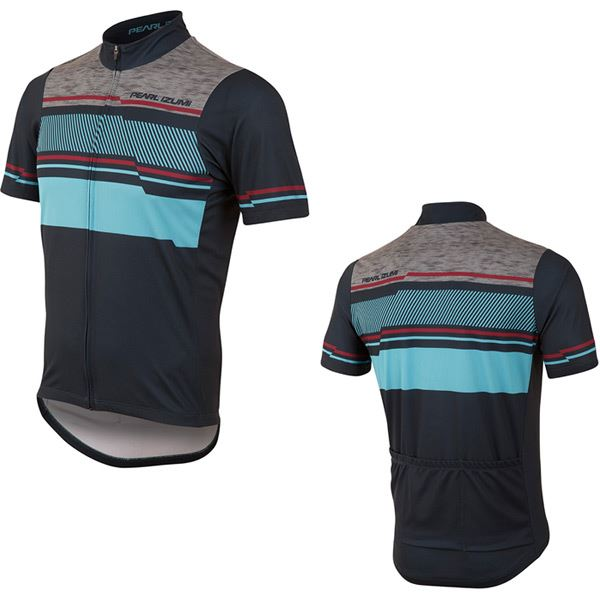 PEARL iZUMi Men's, SELECT LTD Jersey, Drift Eclipse bluee, Size L