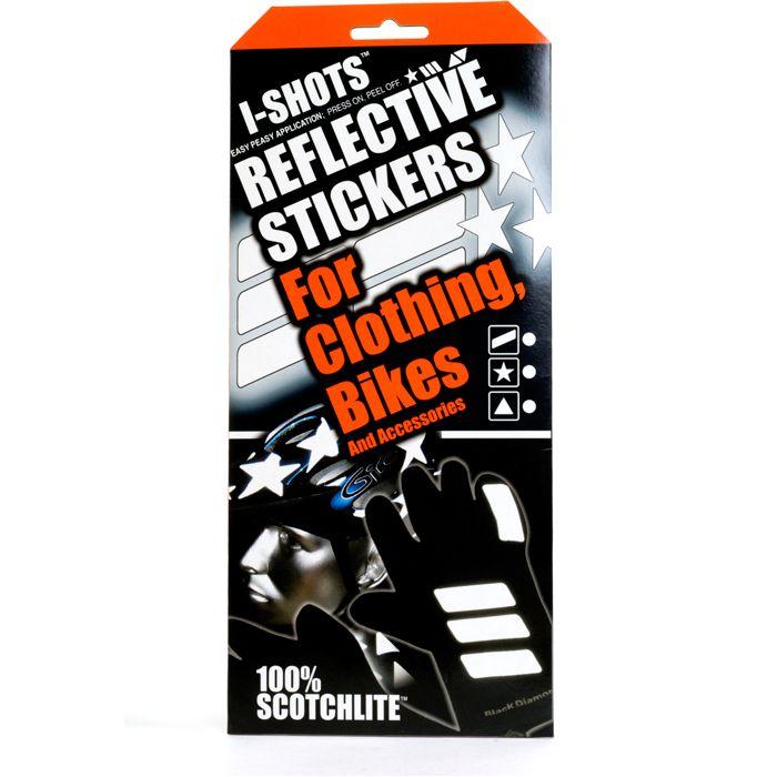 I-Shot reflective sticker kit - stars