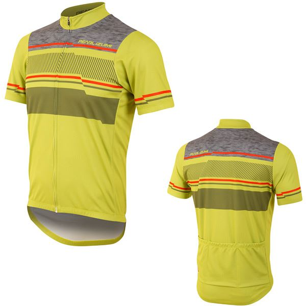 PEARL iZUMi Men's, SELECT LTD Jersey, Drift Citron, Size XL   ultra-low prices