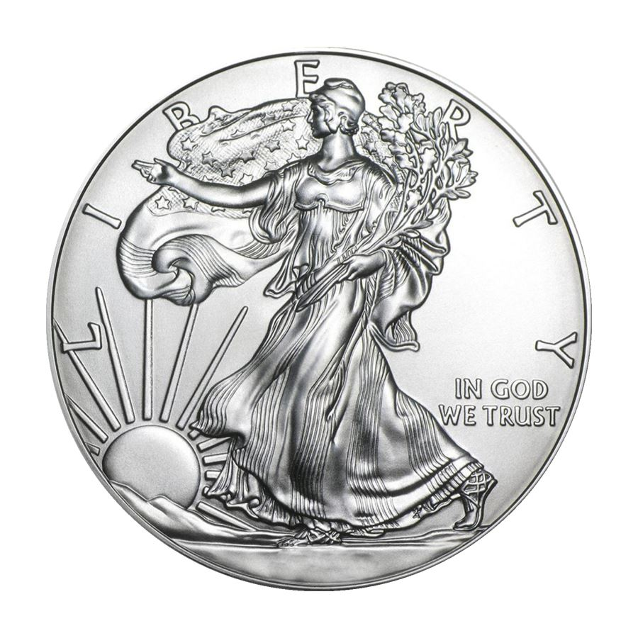 Купить American Silver Eagle 1 oz Coin | Roll of 20 Dates Our Choice