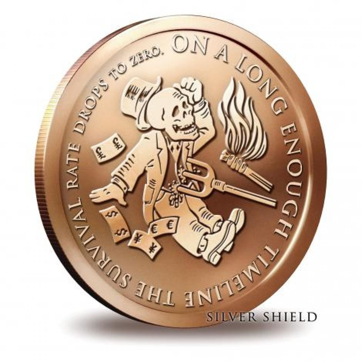2016 1OZ COPPER ROUND End of the Line