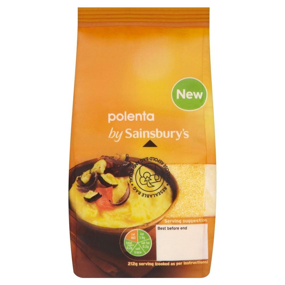 Details About Sainsburys Polenta 400g