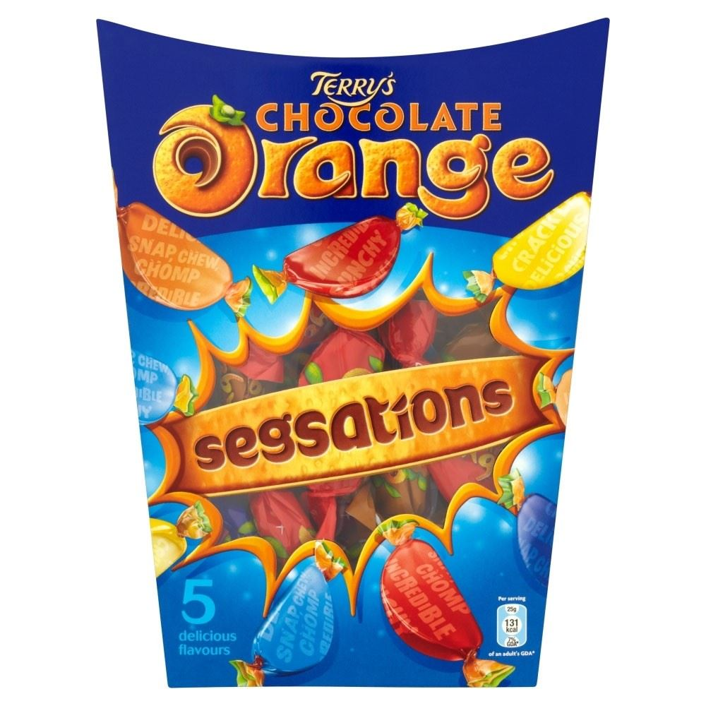 Terry's Chocolate Orange Segsations (330g) | eBay