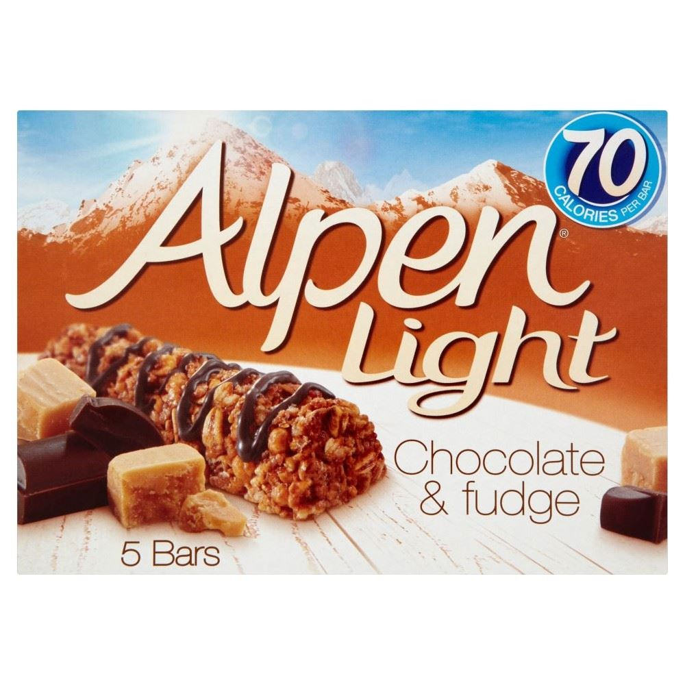 Alpen light bars chocolate fudge 5x19g 721864866341 ebay alpen light bars chocolate fudge 5x19g aloadofball Image collections
