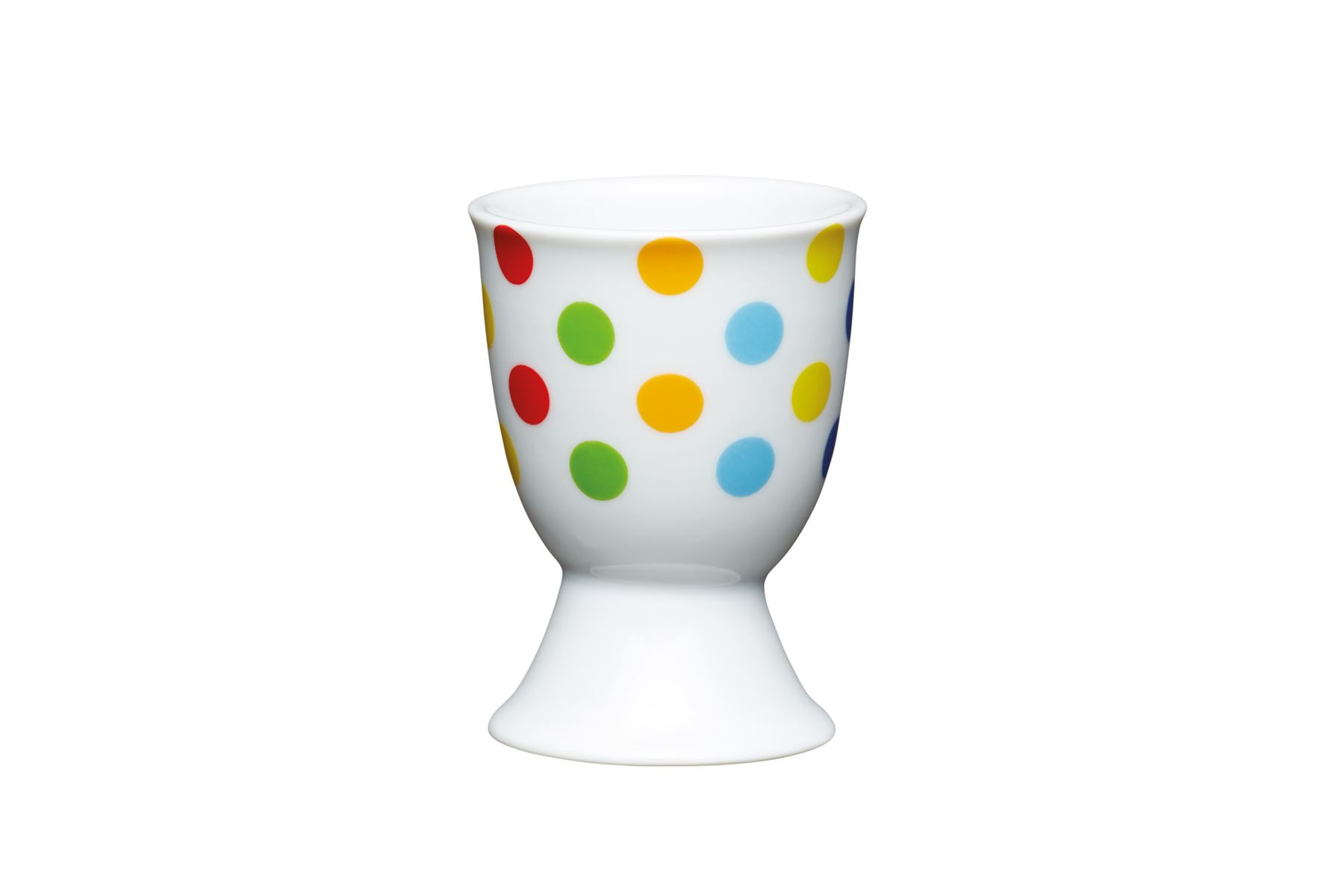 KitchenCraft Classic Collection Ceramic Double Egg Cup in Cream