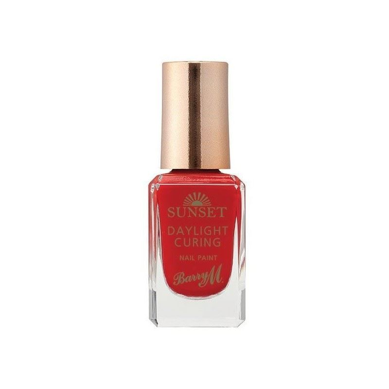 Barry M Sunset Nail Paint 1 - Can\'t Get You Out Of My Red ...