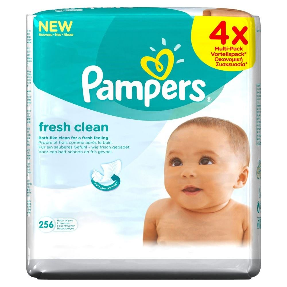 Pampers Baby Wipes 64 Wipes Pack Of 2