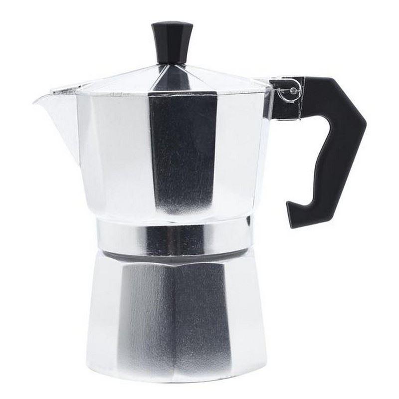 Details About Waitrose Aluminium Espresso Maker 6 Cup