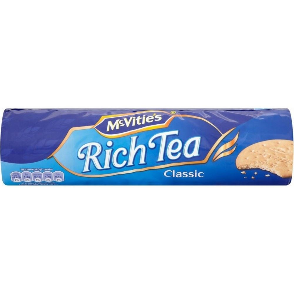 Details About Mcvities Classic Rich Tea Biscuits 300g Pack Of 2