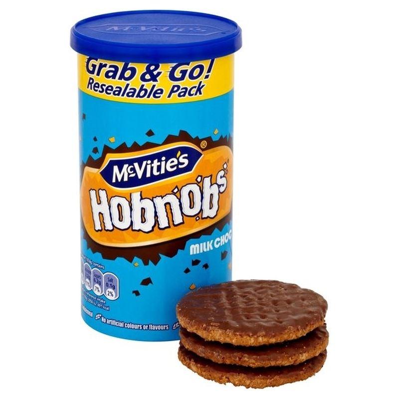 McVitie's Milk Chocolate Hobnobs Tube 205g