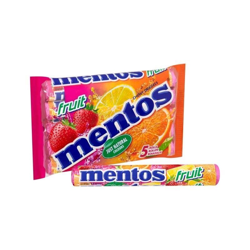 Mentos Fruit 5 x 38g