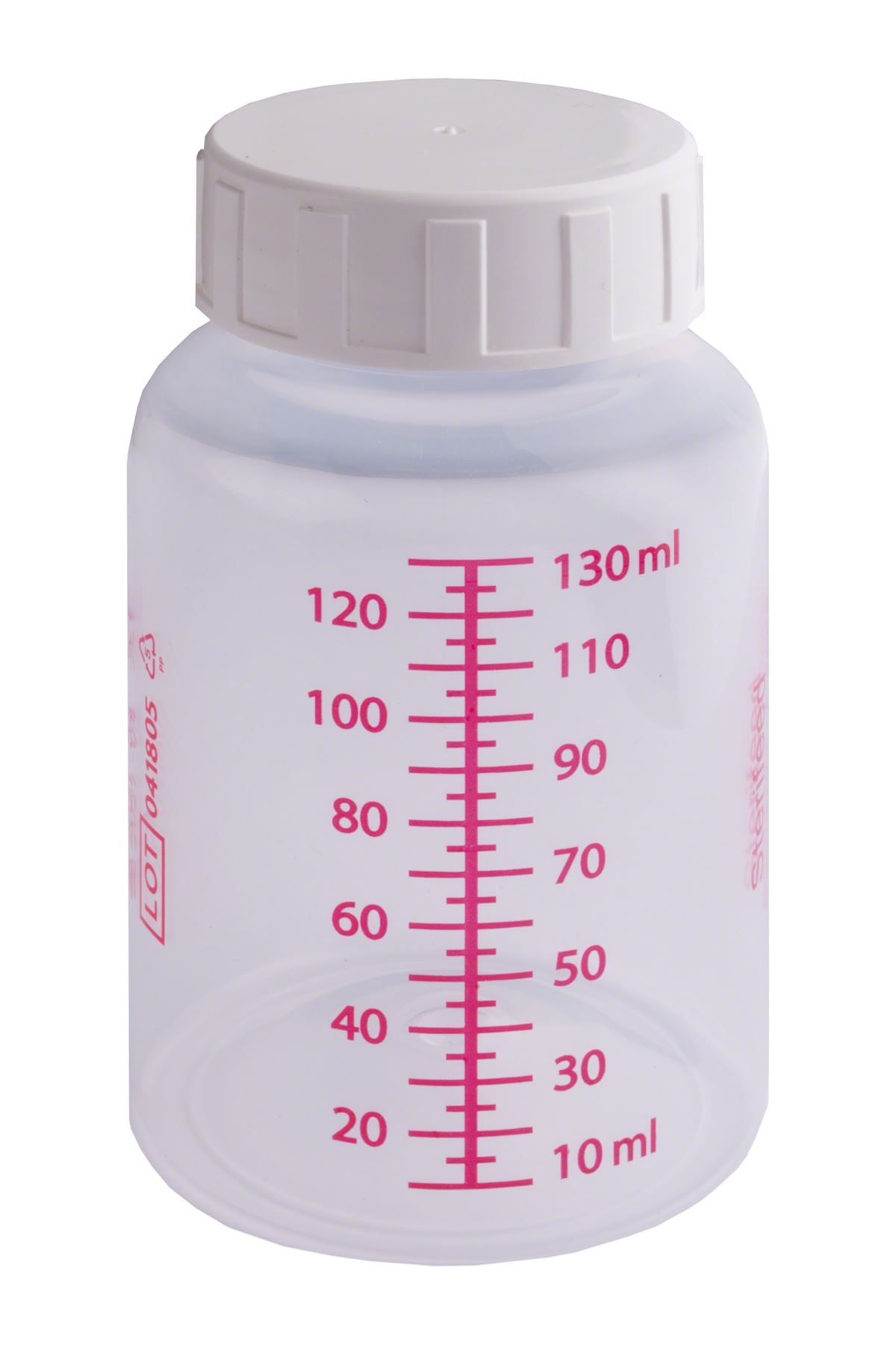 Pack 10 130ml Sterifeed Disposable Sterile Baby Bottle