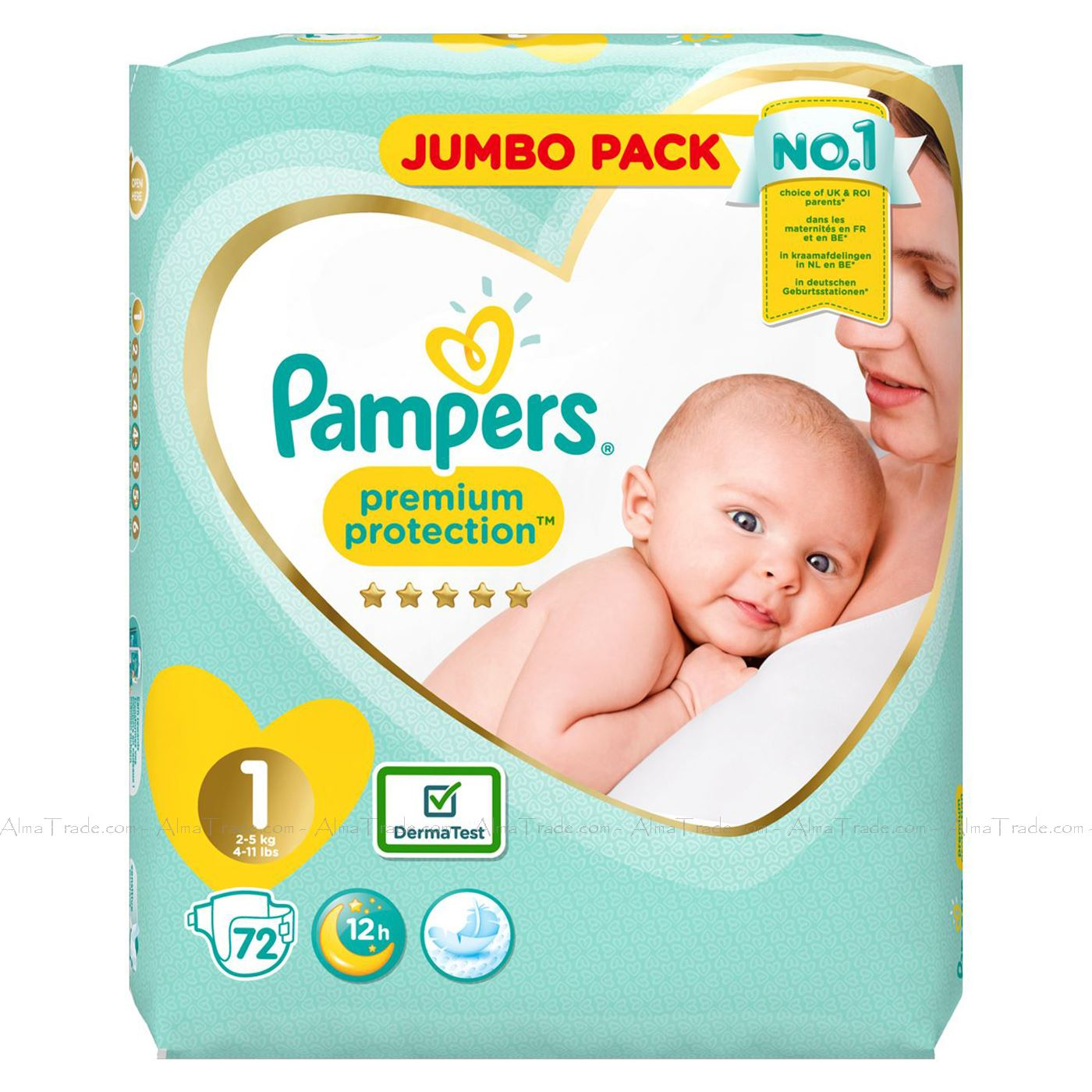 Pampers-Baby-Dry-Nappy-Air-Channels-Nappies-Size-1-2-3-4-5-6-7-Jumbo-Giga-Pack thumbnail 4