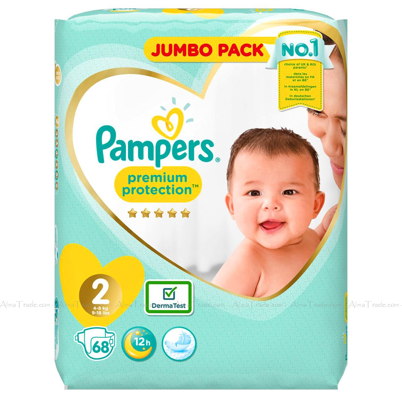 Pampers-Baby-Dry-Nappy-Air-Channels-Nappies-Size-1-2-3-4-5-6-7-Jumbo-Giga-Pack thumbnail 9