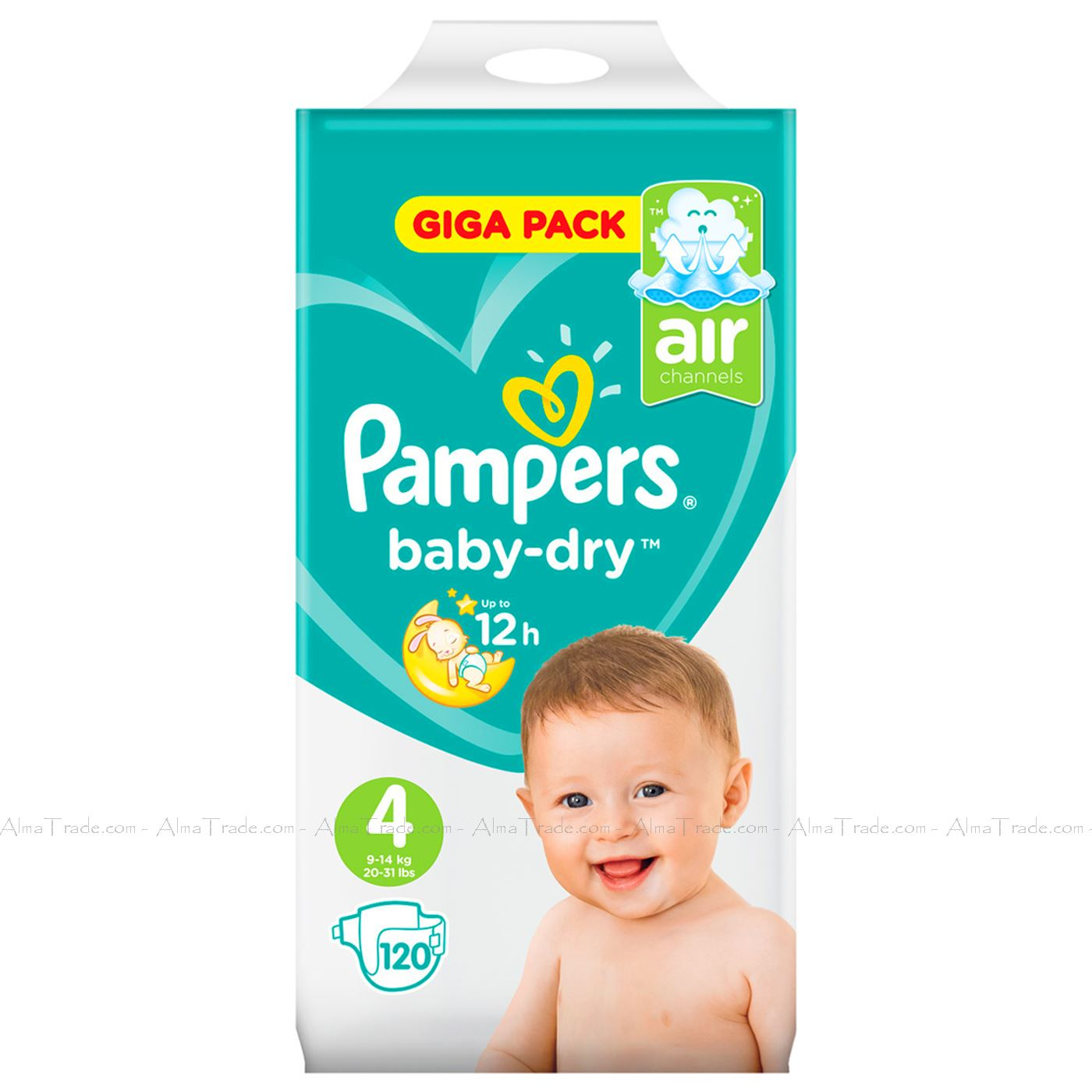 Pampers-Baby-Dry-Nappy-Air-Channels-Nappies-Size-1-2-3-4-5-6-7-Jumbo-Giga-Pack thumbnail 23