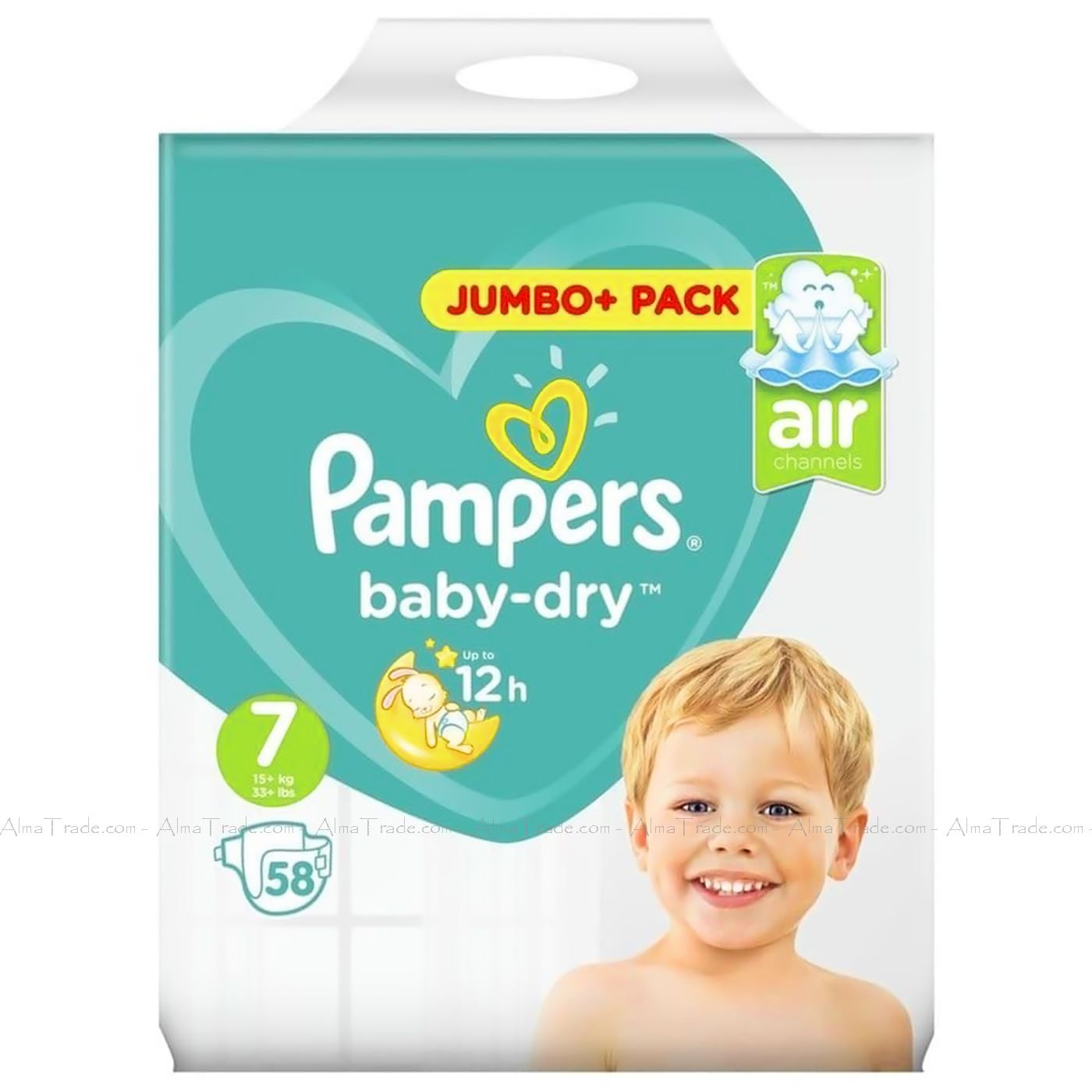 Pampers-Baby-Dry-Nappy-Air-Channels-Nappies-Size-1-2-3-4-5-6-7-Jumbo-Giga-Pack thumbnail 35