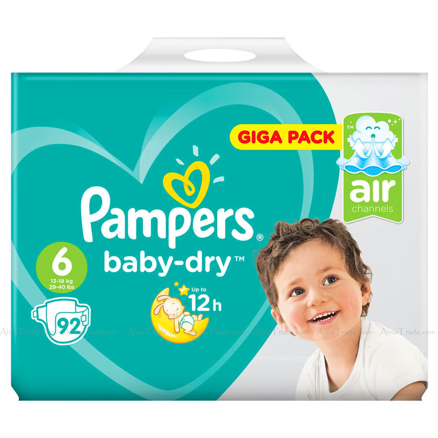 Pampers-Baby-Dry-Nappy-Air-Channels-Nappies-Size-1-2-3-4-5-6-7-Jumbo-Giga-Pack thumbnail 31