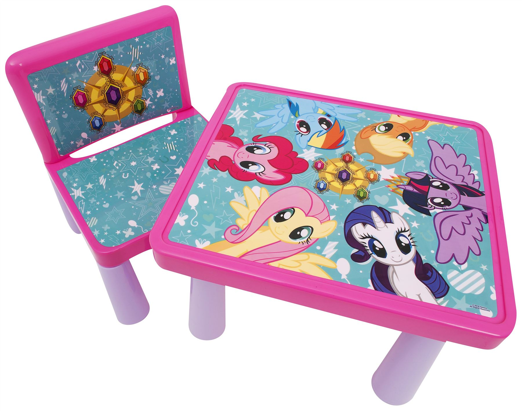My little pony colouring table - My Little Pony Colouring Table