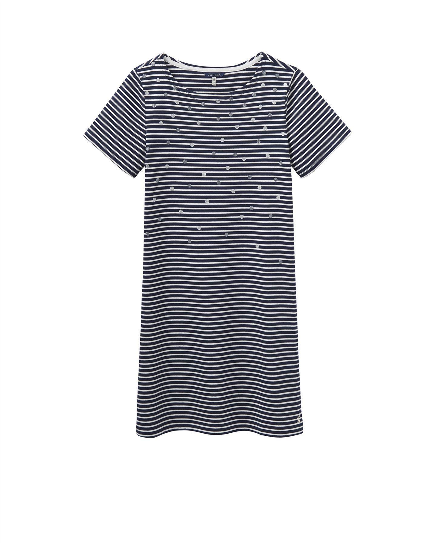Black t shirt dress ebay - Joules Riviera Luxe Jersey T Shirt Dress