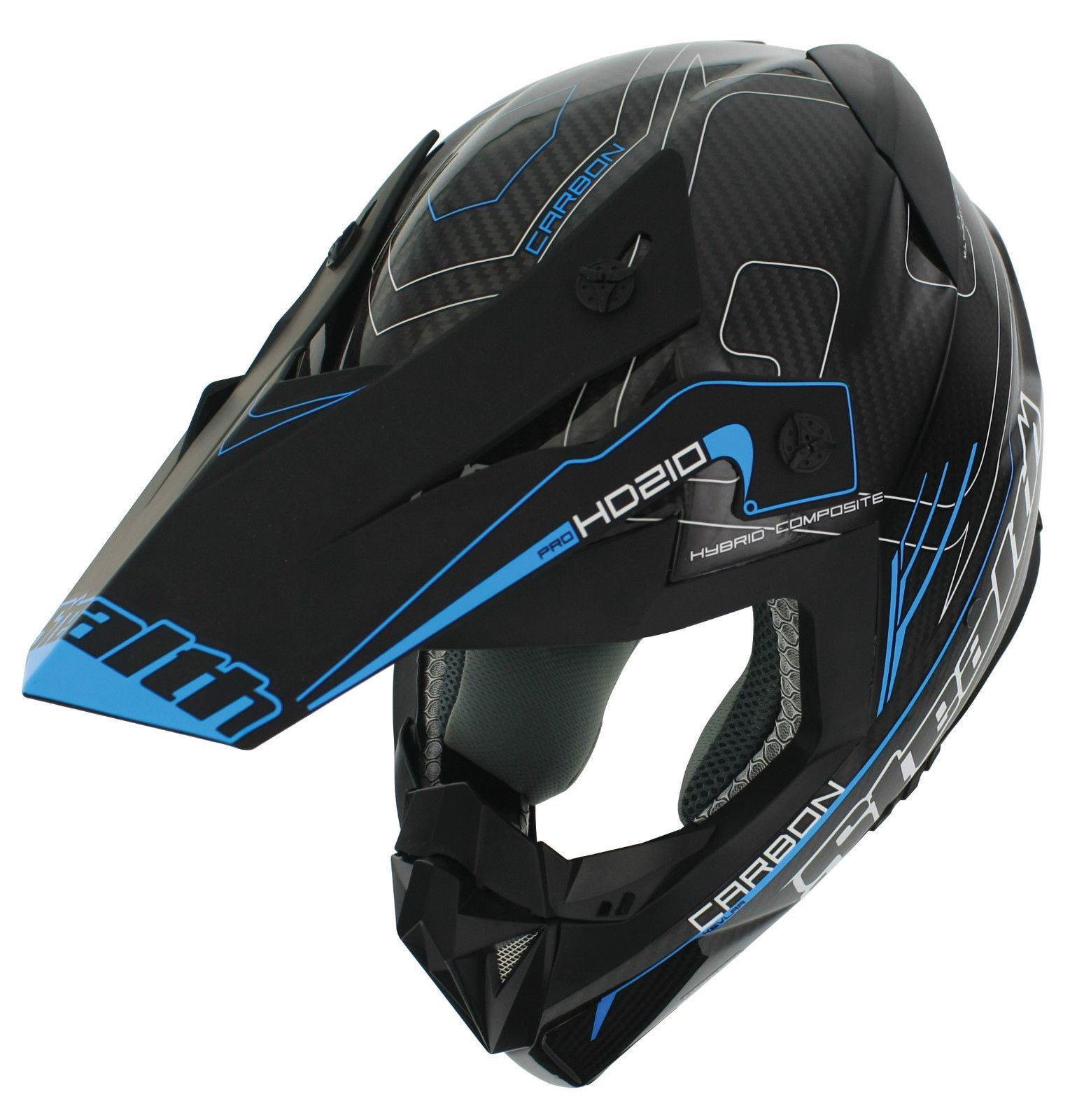 STEALTH HD210 MX MOTOCROSS RACING HELMET DIRT BIKE CRASH ENDURO OFF ROAD DROID