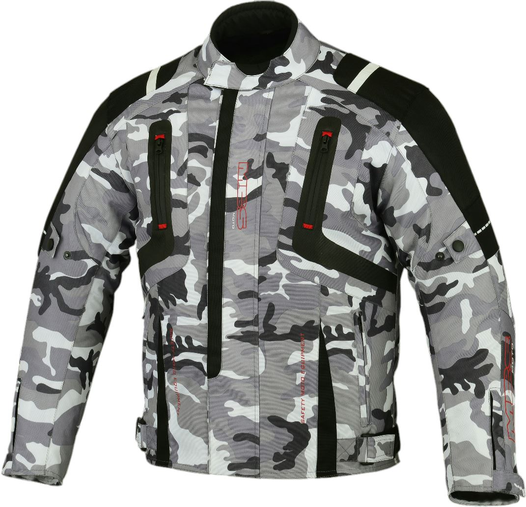 New-Camo-Cordura-Waterproof-Motorcycle-Motorbike-Scooter-Textile-Jacket