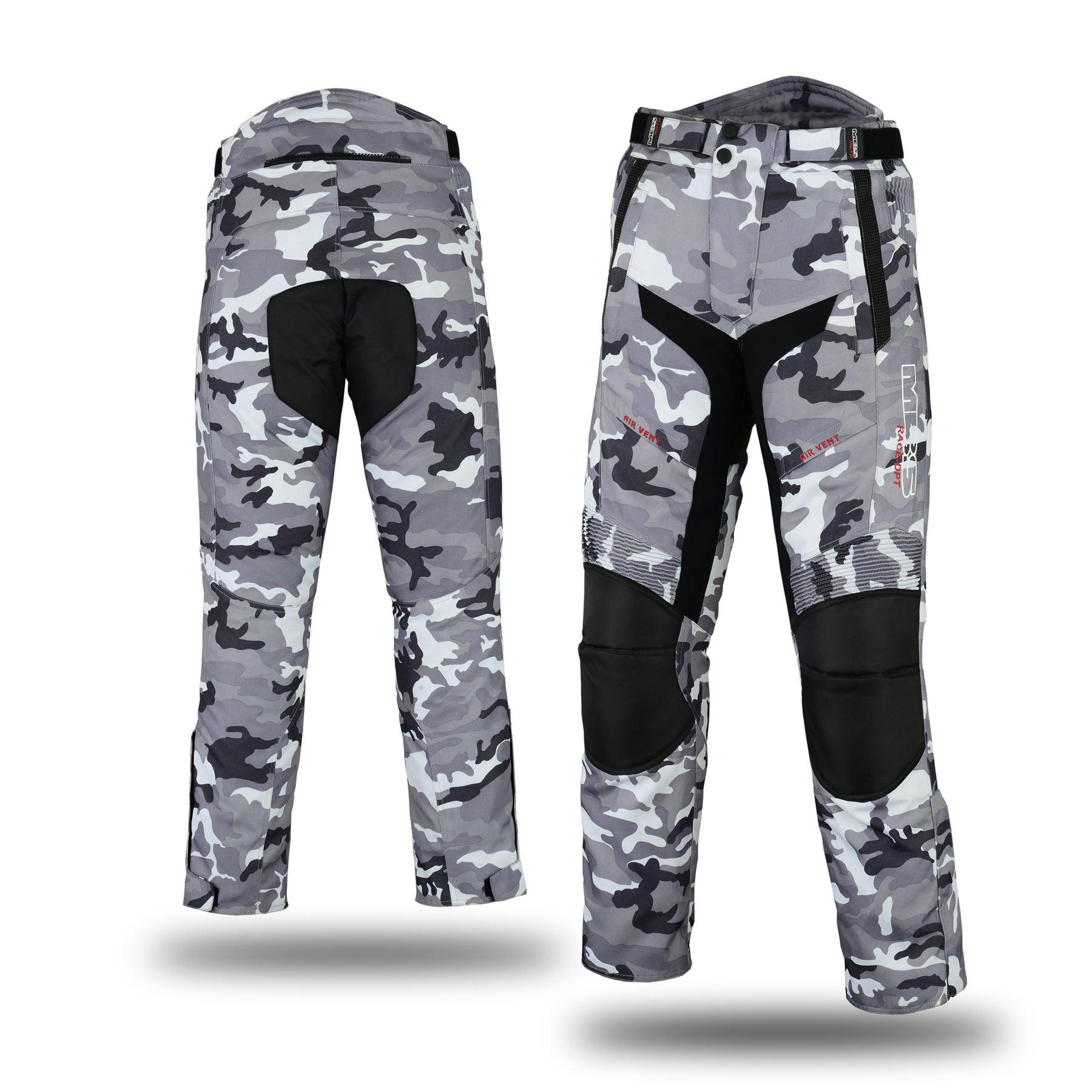 Mbsmoto MP-51 Pantalon de moto en textile Cordura /étanche et coupe-vent